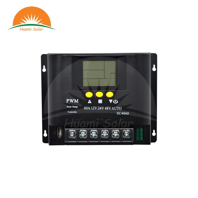 12V/24V/48V 60A LCD PWM Solar Charge Controller SYC4860-1
