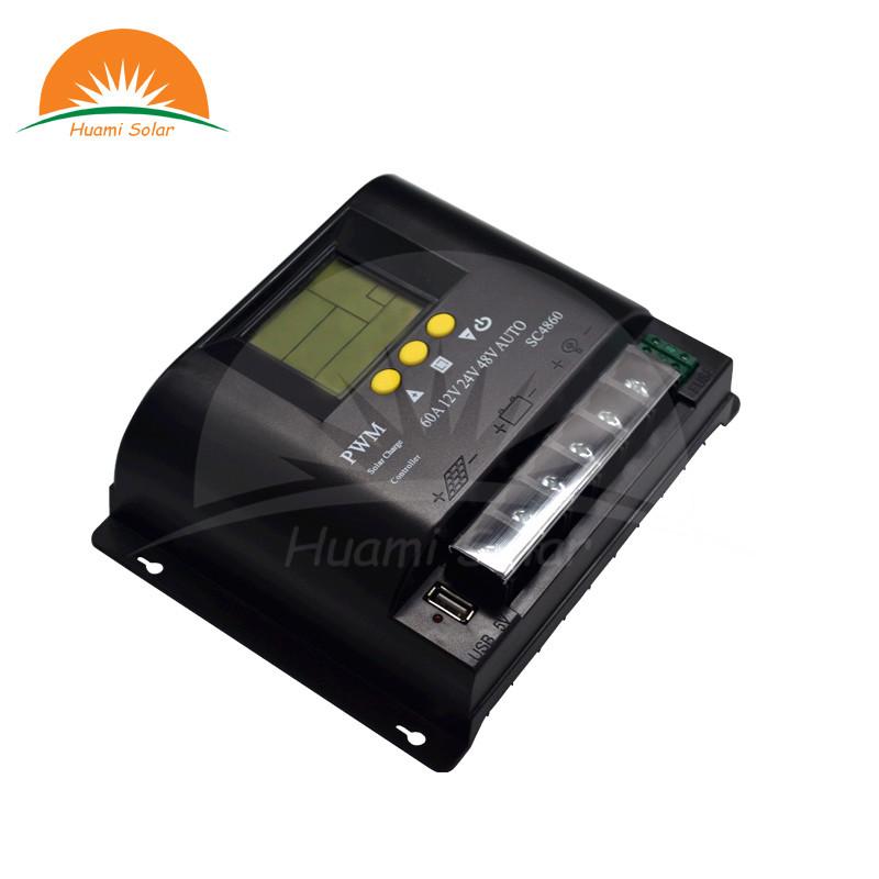 12V/24V/48V 60A LCD PWM Solar Charge Controller SYC4860-2