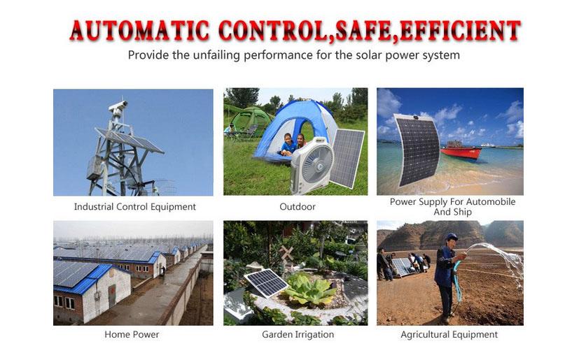 12V/24V/48V 60A LCD PWM Solar Charge Controller SYC4860-19