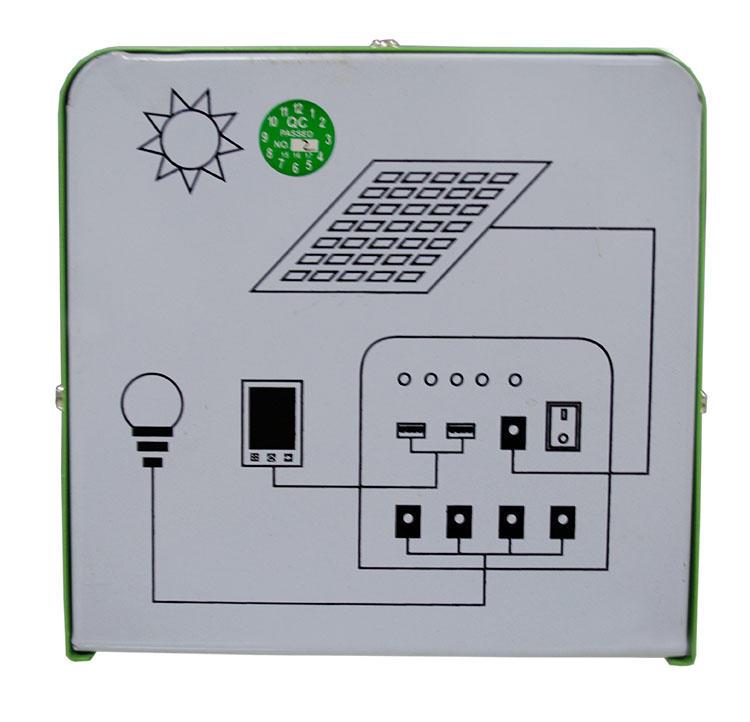 lighting generator small solar kit lst1210 Huami company