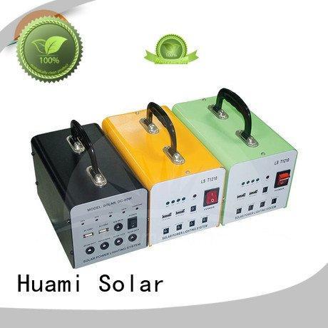 OEM portable solar panel kits for home lighting generator lst1210 solar power generator kit