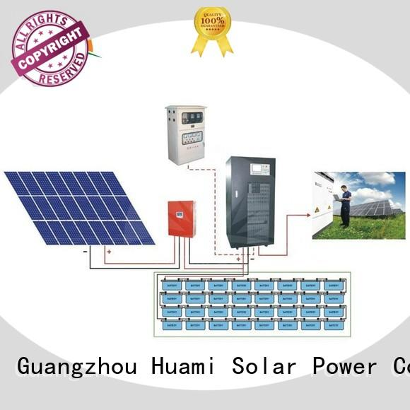 Huami latest on grid off grid solar home