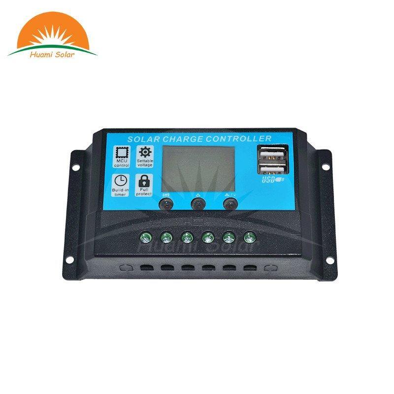 12V/24V 10A LED PWM Solar Charge Controller HM-1024
