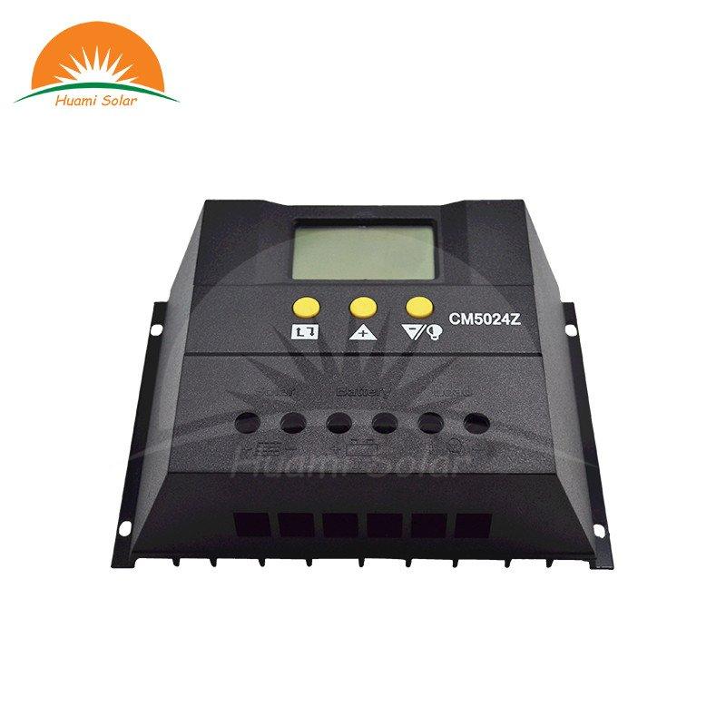 Huami 12V/24V 50A LED PWM Solar Charge Controller CM5024 PWM Solar Charge Controller image9