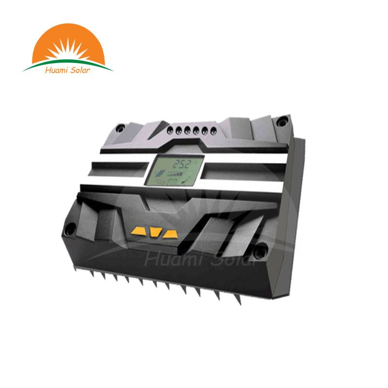 Huami 24V 10A LED PWM Solar Charge Controller HMKC-10 PWM Solar Charge Controller image8