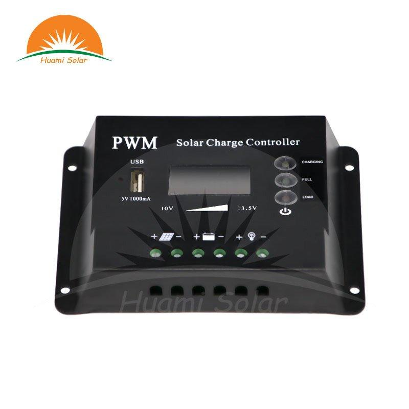 12V 10A LED PWM Solar Charge Controller HME-10