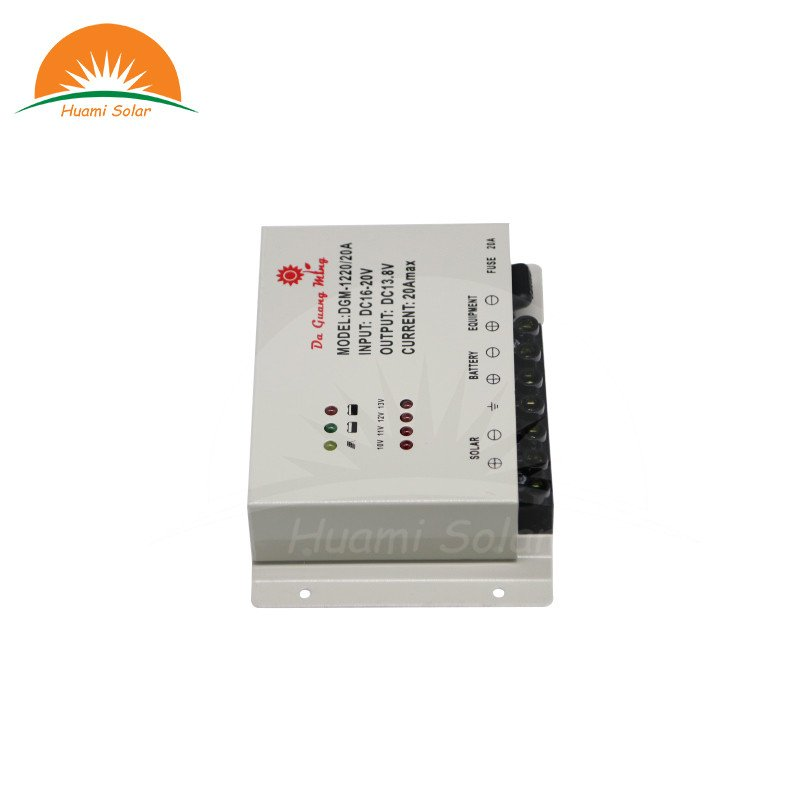 Huami 12V 20A Solar PWM Charge Controller DGM-1220 PWM Solar Charge Controller image4