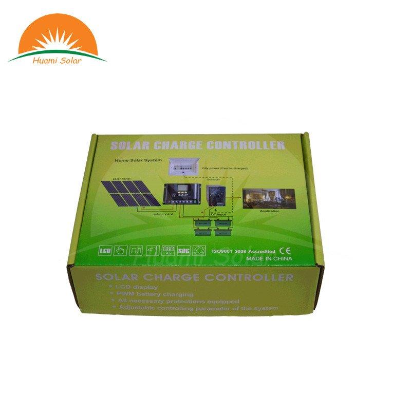 Huami 12V/24V/48V 60A LCD PWM Solar Charge Controller SYC4860 PWM Solar Charge Controller image3