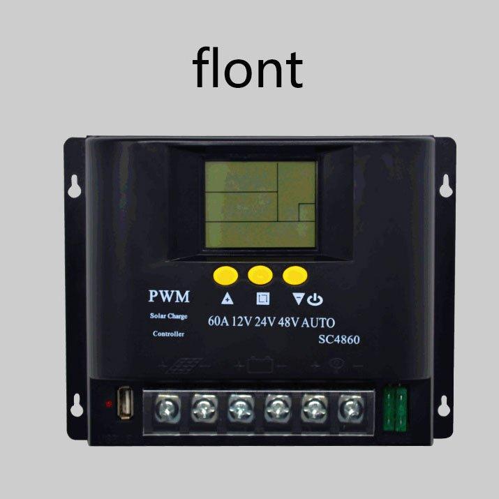 12V/24V/48V 60A LCD PWM Solar Charge Controller SYC4860-12