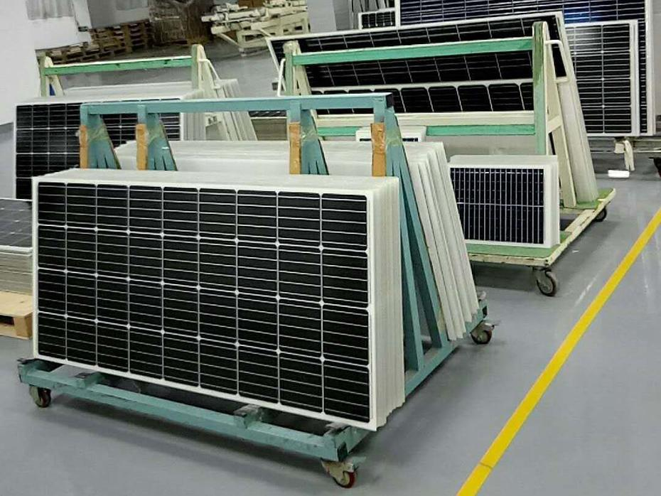 solar panel production line