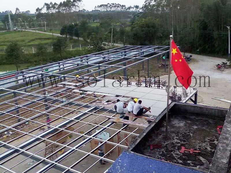 Huizhou honghu 89KW poverty alleviation project
