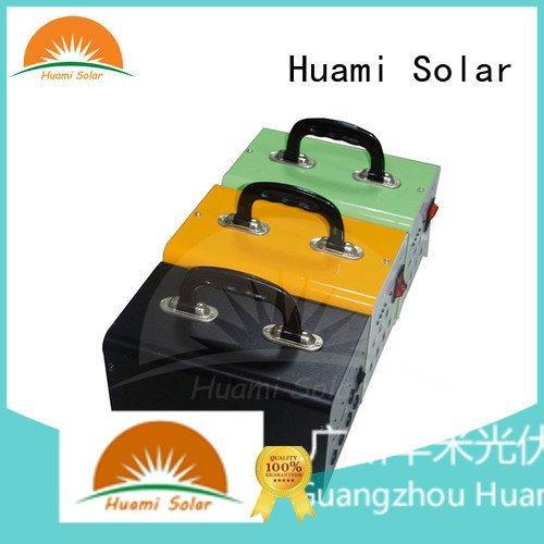 lighting generator Huami solar power generator kit