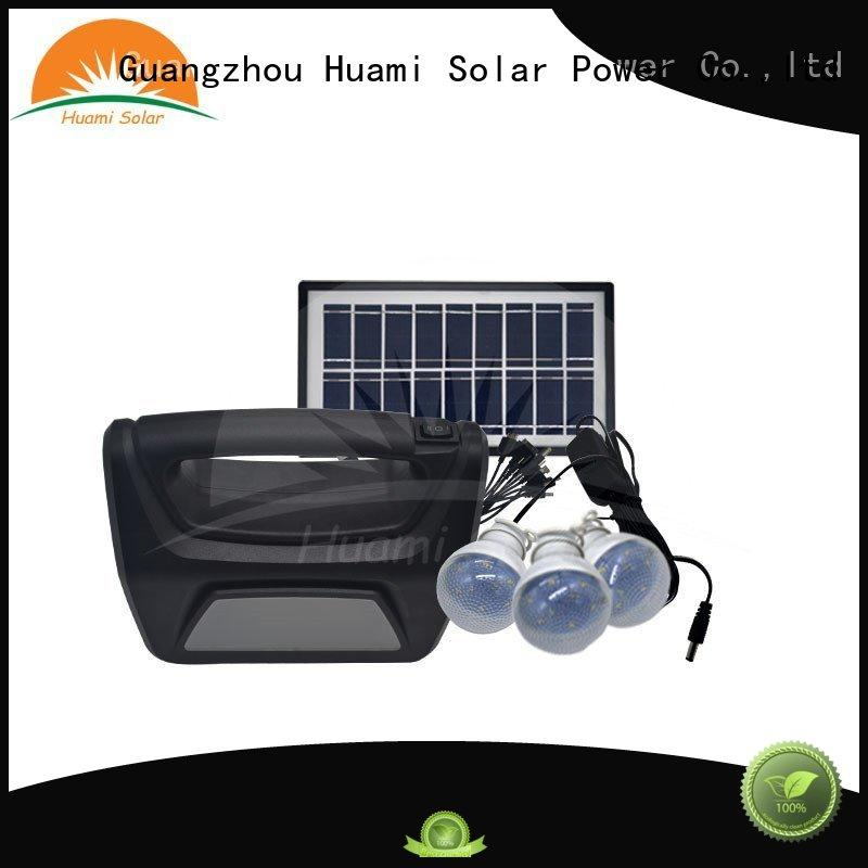 kit generator lighting Huami Brand portable solar panel kits for home factory