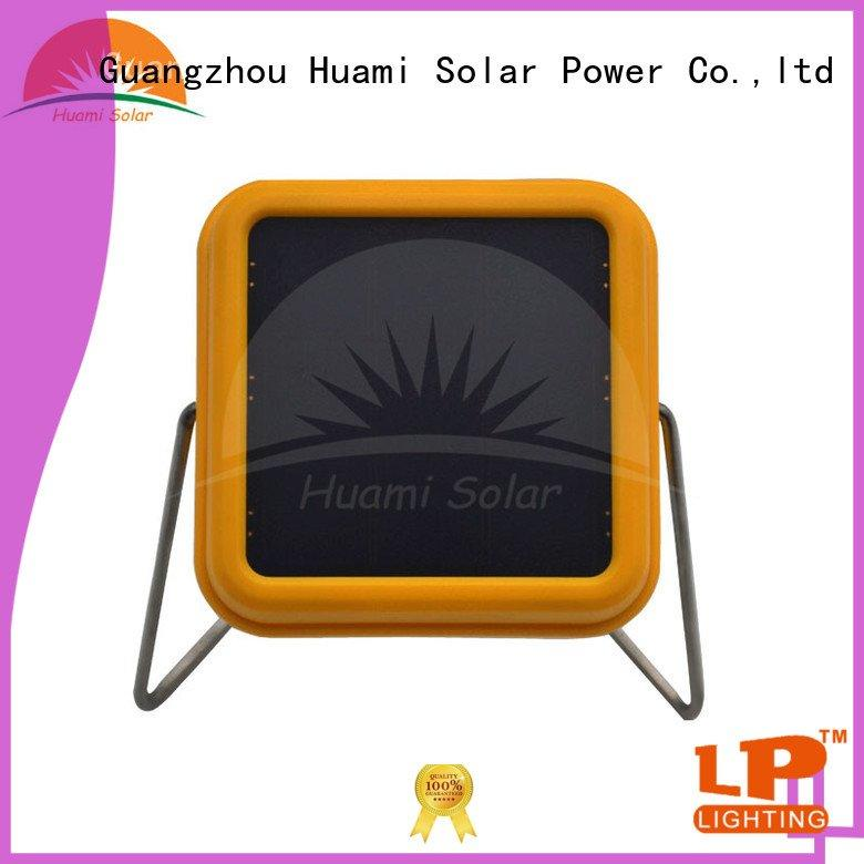 Huami solar lamp post solar panel home
