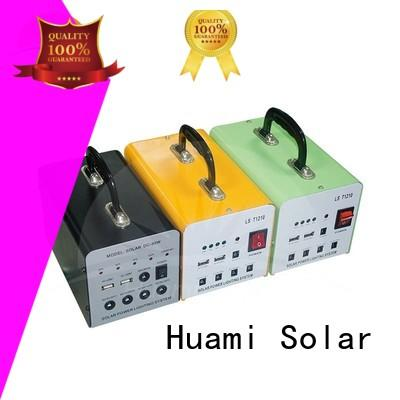 Huami muti-function solar panel kit with battery manufacturer for industry