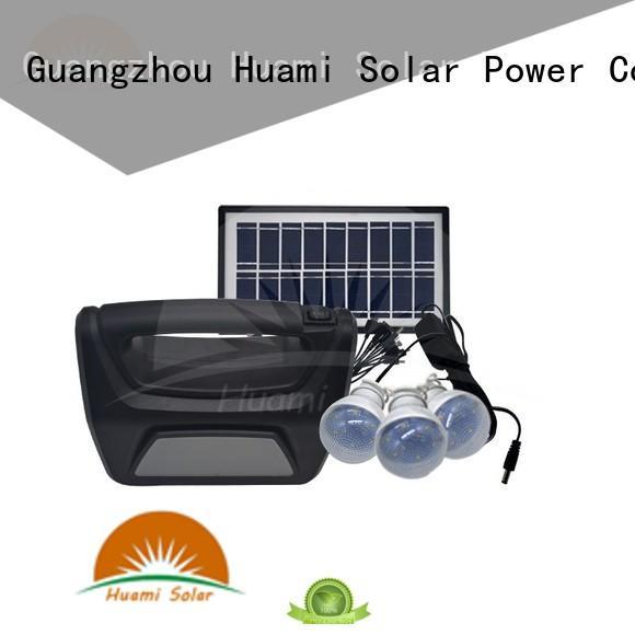 kit solar lighting Huami Brand small solar kit supplier