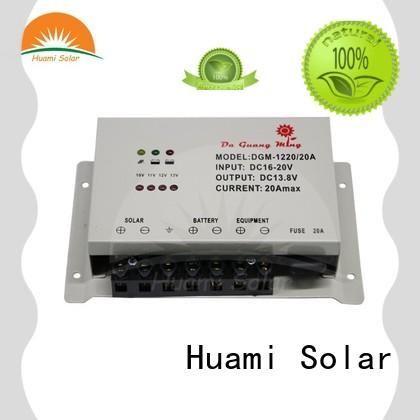 Huami high quality pwm 30a solar charge controller bulk production for solar energy