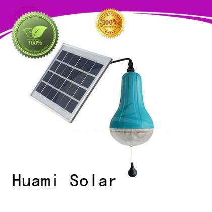 3w panel home reading Huami Brand solar lamp post lights supplier