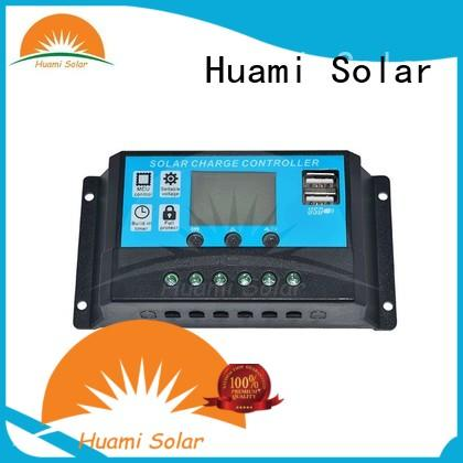 Huami factory price pwm solar power controller free sample for battery control