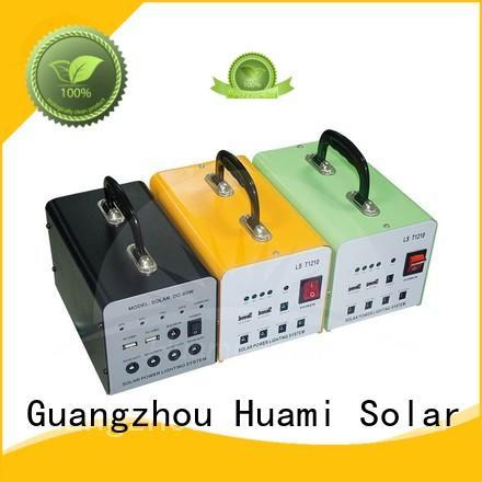 Huami solar portable solar panel and battery kit