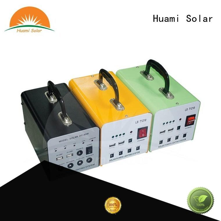 Huami portable solar battery kit high brightness for industry