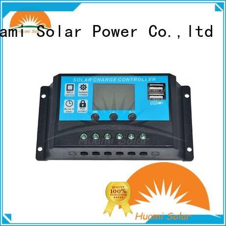 12v24v 24v pwm based solar charge controller small Huami company