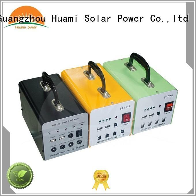 Hot portable small solar kit generator solar Huami Brand