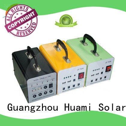portable solar panel kits for home kit solar power generator kit Huami Brand
