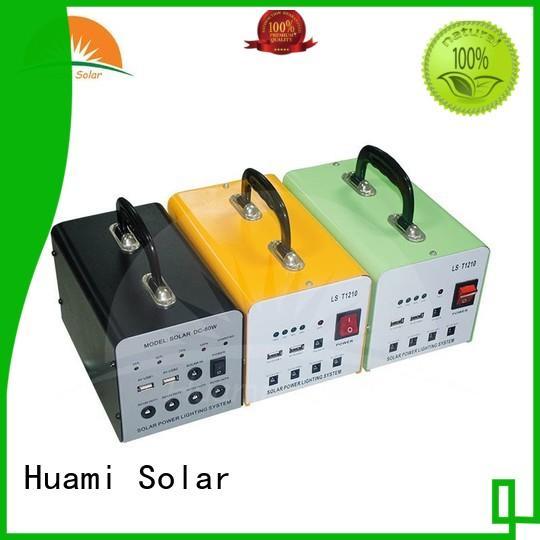 Huami portable solar power generator kit one year warranty
