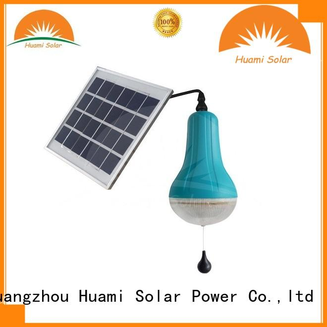 04w5v lamp panel Huami Brand solar lamp post lights supplier