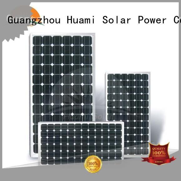 monocrystalline panel 250w Huami Brand monocrystalline silicon solar cells factory