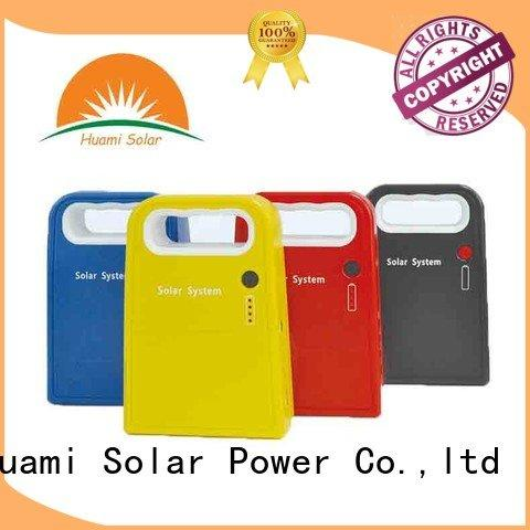 lighting solar power generator kit Huami portable solar panel kits for home