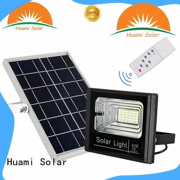 40W Solar flood light