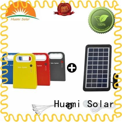 Huami portable solar panel kit with battery one year warranty