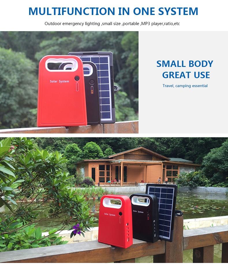 Huami long lighting time small solar kit manufacturer for factory-5