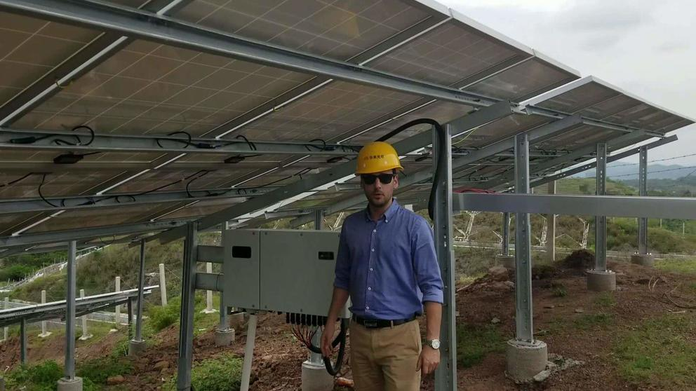 MEIZHOU 3MW ON-GRID SOLAR SYSTEM VIDEO 2
