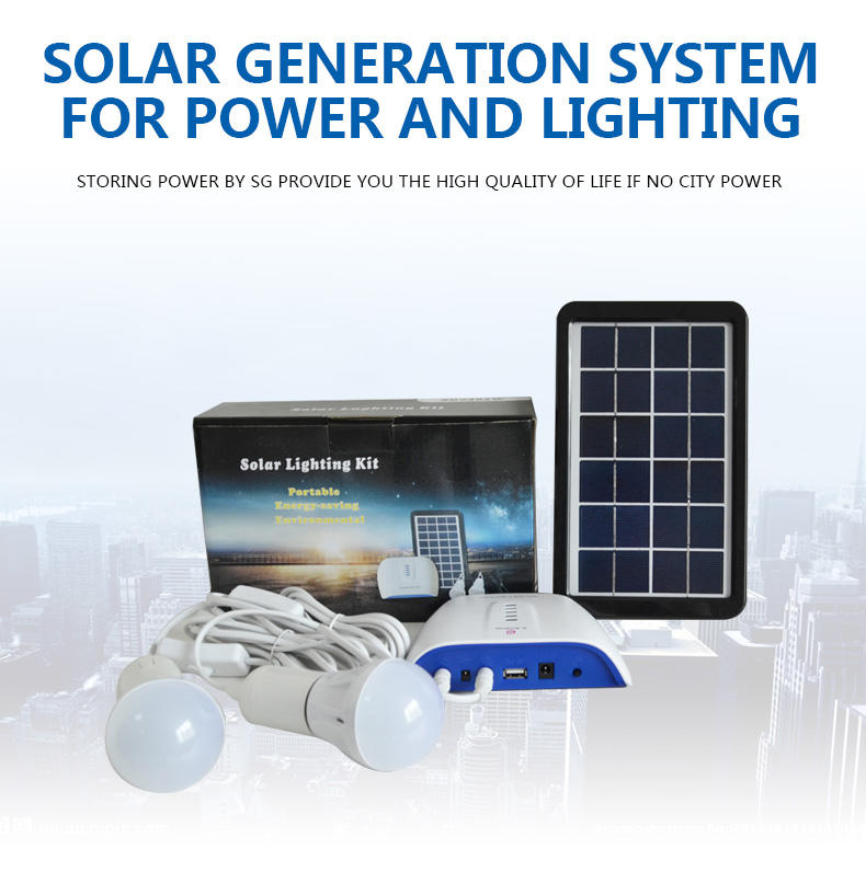 portable solar panel kits for home lighting lst1210 dc80w Warranty Huami