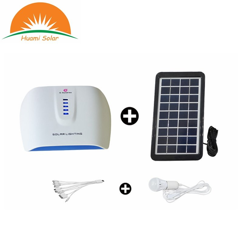 Huami 0403  Portable Solar Lighting Kit Solar Kit image29