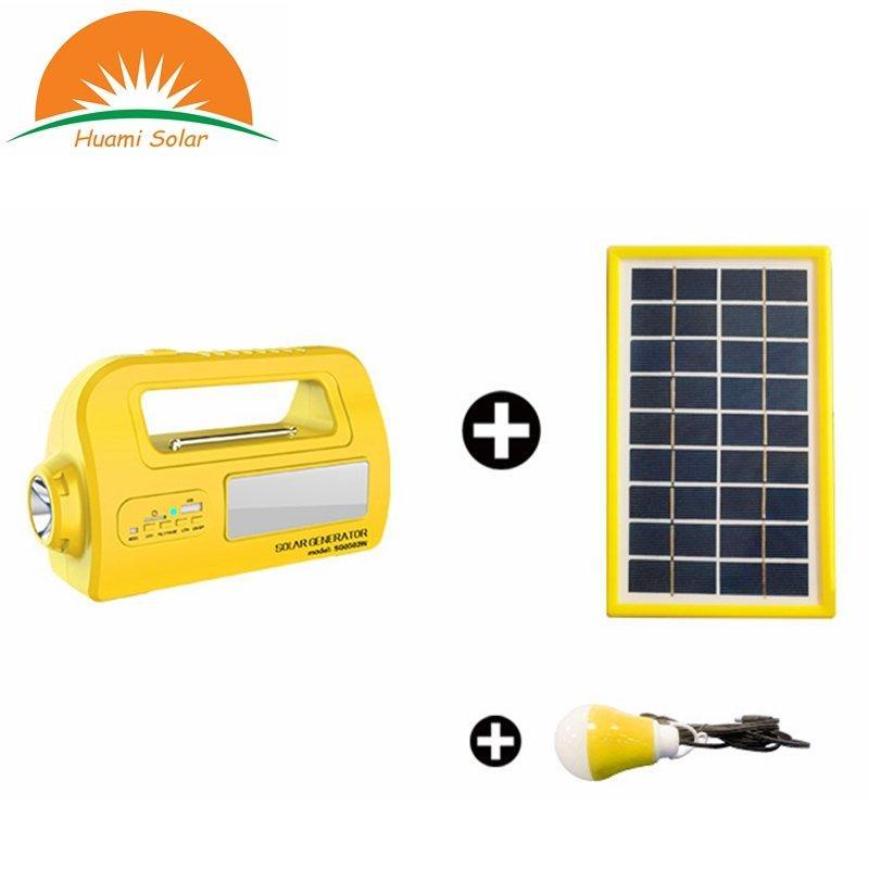 DC 12V Mini Solar System Generator Portable Solar Lighting System