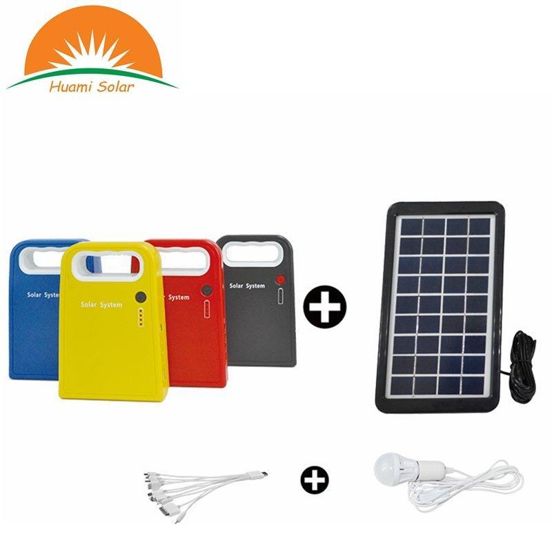 SG0603W mini portable solar system kit