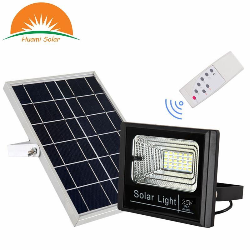 25W solar flood light