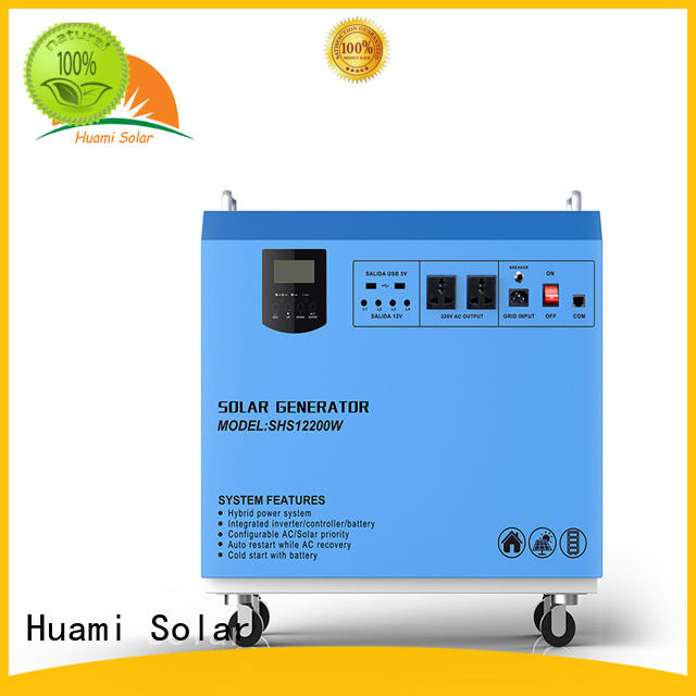 Huami mini solar power generator kit manufacturer for manyfacturer