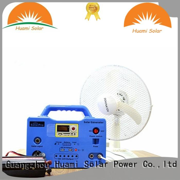 Huami portable small solar kit one year warranty for manyfacturer