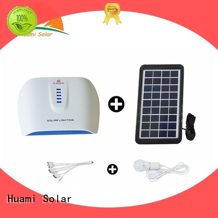 muti-function portable solar generator kit lighting manufacturer for factory
