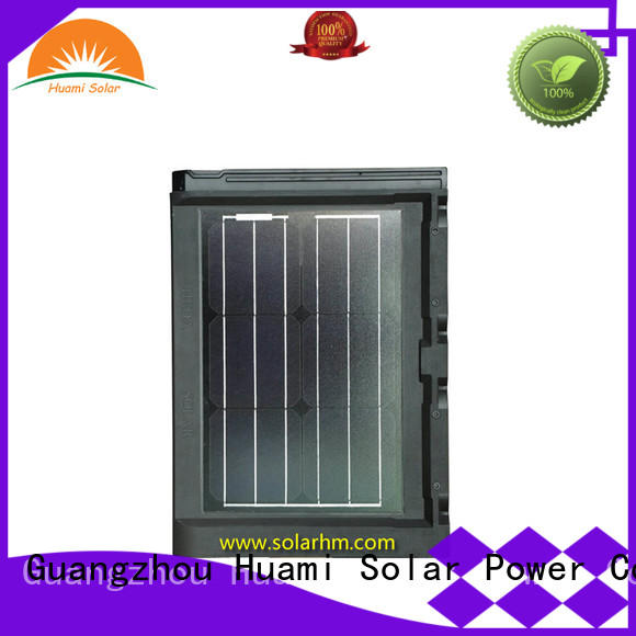 Huami portable solar roof tile wave for generate power