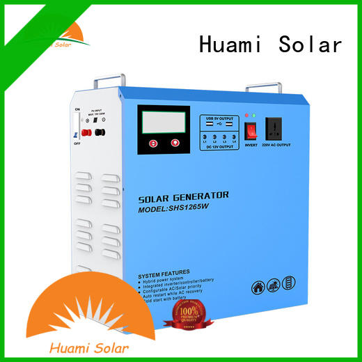 Huami muti-function small solar kit one year warranty for industry