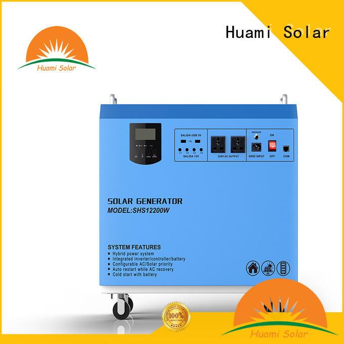 Huami portable portable solar panel kits for home