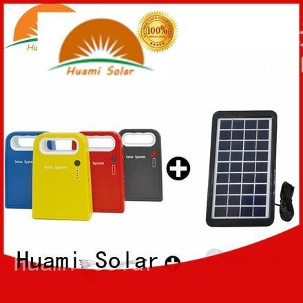 Huami portable solar battery kit