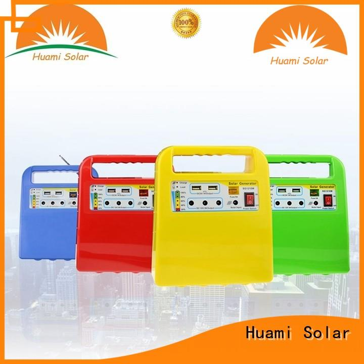 Huami portable solar kits for sale high brightness for manyfacturer