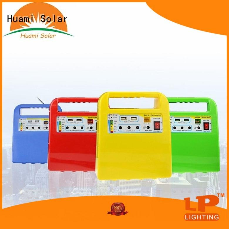 generator dc80w portable Huami Brand portable solar panel kits for home manufacture